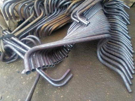 任意角度钢管弯管成品图