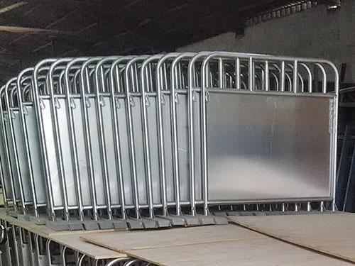铁马护栏弯管加工成品